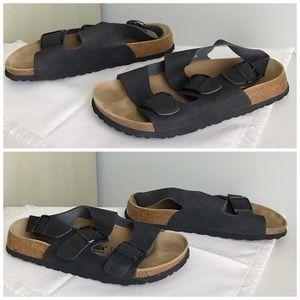 Birkenstock Shoes - Birkenstock BETULA Milano Leather Suede Sandals 41